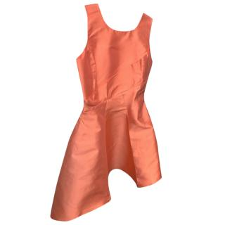 Dior asymmetric short cocktail dress