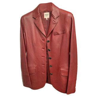 Hermes Seraphin Leather jacket
