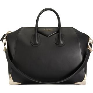 Givenchy Medium Antigona capped-base leather bag