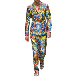 Dolce & Gabbana 'Carretto' Print Jacket