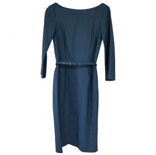 Boss Hugo Boss Black Belted Dress