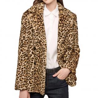 Gerard Darel Gloire Rabbit Fur Jacket