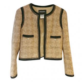 Chanel silk & wool jacket