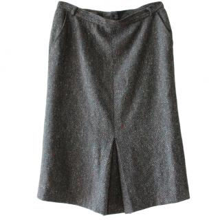 Max Mara Tweed Skirt
