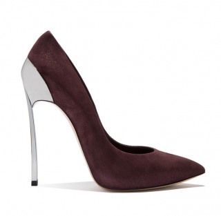 Casadei Techno Blade Maroon Pumps