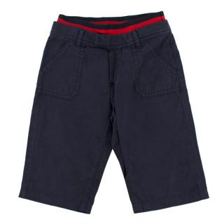 Gucci Boy's Navy Trousers