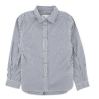 Marie Chantal White and Grey Check Shirt