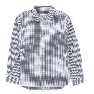 Marie Chantal White and Grey Check Shirt