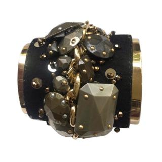 Vintage Yves Saint Laurent Gold Cuff
