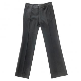 Vanessa Bruno satin trimmed tuxedo trousers