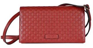 Gucci Red Margaux Micro Wallet Crossbody Bag