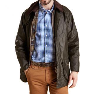 Barbour Men's Classic Beaufort waxed jacket