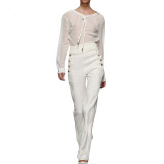 Max Mara Sailor wide leg trousers