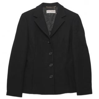 Dolce & Gabbana Black Timeless Blazer