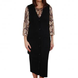Autumn Cashmere Button-Down Dress