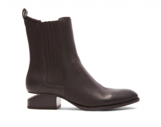 Alexander Wang Anouck brown leather ankle boots