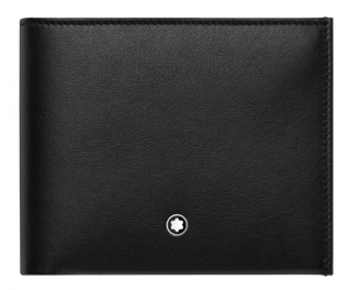 Montblanc bi-fold leather wallet