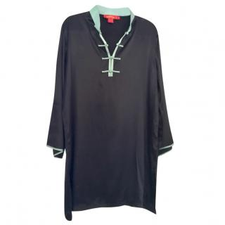 Shanghai Tang silk tunic dress, size XL