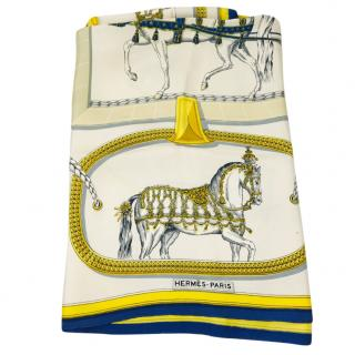 Hermes Grand Apparat Vintage Scarf
