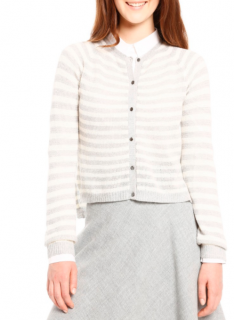 Max Mara Knit Striped Cardigan