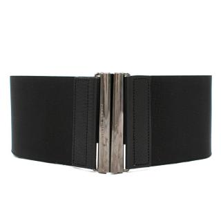 Balmain black waist belt