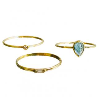 Loren Stewart Gold Stacking Rings