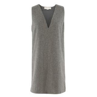 Stella McCartney grey wool-felt dress