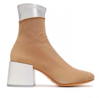 MM6 Maison Martin Margiela Stretch Knit Sock Boots