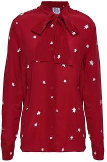 Zoe Karssen Silk Star Blouse
