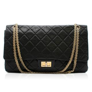 Chanel 2.55 Jumbo Reissue double-flap quilted leather bag