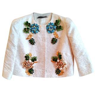Dolce & Gabbana crystal embellished jacket