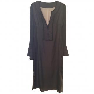 Amanda Wakeley silk kaftan style dress