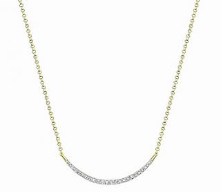 Carissima Diamond Smile Necklace