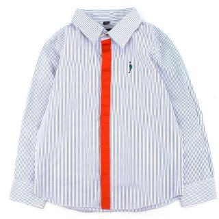 The Emperor Boys Striped Button Down Shirt