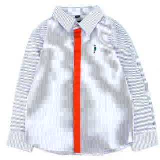 The Emperor Boys Striped Button Down Shirt