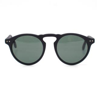 Spektre Black Round Sunglasses
