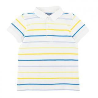 Jacadi Striped Polo Shirt