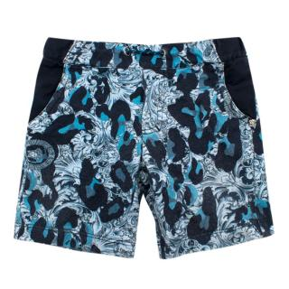 Young Versace Boys Printed Shorts