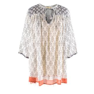 Roberta Roller Rabbit ornate-print cotton tunic