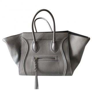 Celine Grey Phantom Tote Bag