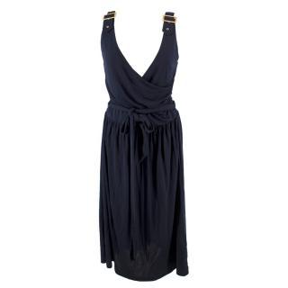 Gant Navy Wrap Dress