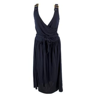 Gant Navy Wrap Dress
