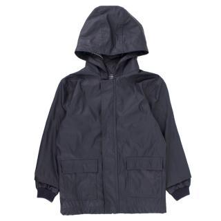 Petit Bateau Navy Blue Raincoat
