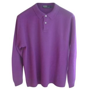 Polo Ralph Lauren Cashmere Polo Style Jumper