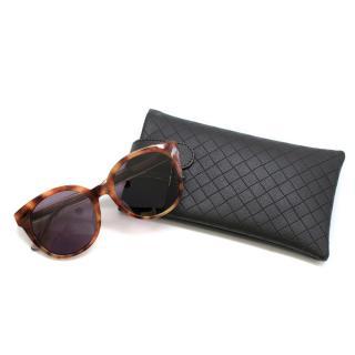 Bottega Veneta Mineral Terre Rare round-frame sunglasses
