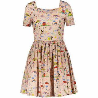 Dolce & Gabbana 'Mama' Cartoon Print Dress