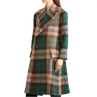 Vivienne Westwood Double Breasted Tartan Coat