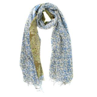 Epice hand-printed scarf