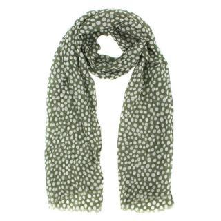Bespoke Polka dot print scarf