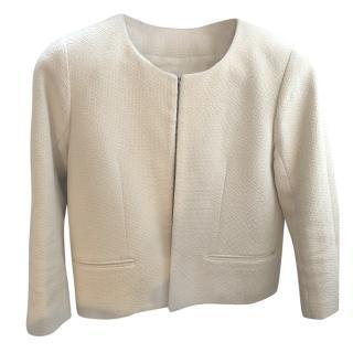 Raey Cream Boucle Jacket